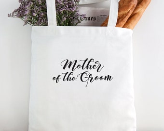 Mother of the Groom Tote, Wedding Party gift, wedding party