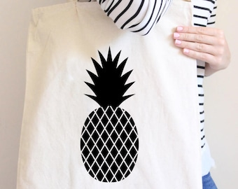 Pineapple, Party Like a Pineapple, Pineapple tote, party tote, pineapple party, wedding tote, tropical wedding, pineapple wedding