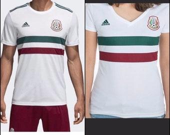 6c6a811ec Mexico los Aztecas selección camiseta white blanca jersey regao de navidad