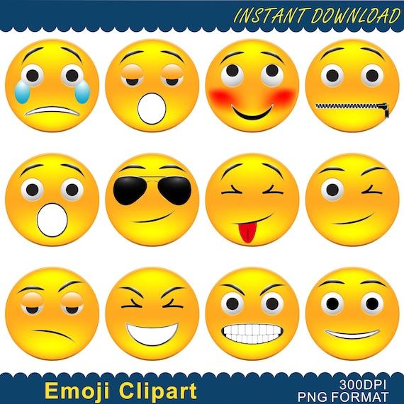 Smiling Emoji Clipart