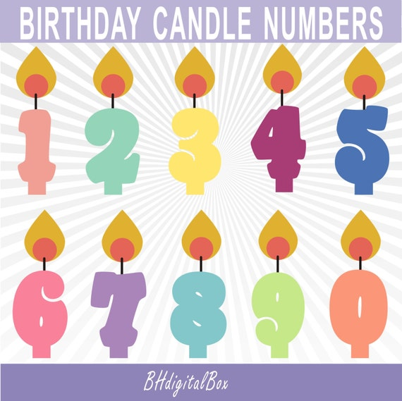Birthday Candle Clipart Candles Clip Art