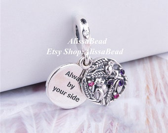 Jewelry & Accessories Beads & Jewelry Making 925 Sterling Silver Little Feet To My Valentine Arrow Of Love Magic Box Pendant Fit Charm Bracelet Diy Jewelry Gift For Women Be Novel In Design
