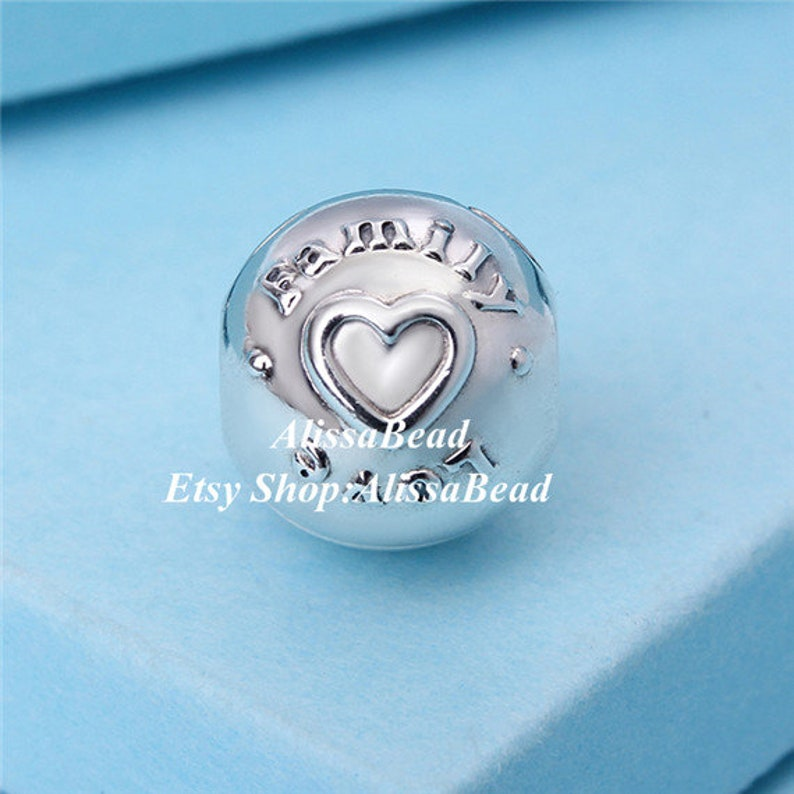 2017 Mothers Day Sterling Silver 14K Gold Family /& Love Clip Charms beads Fits European Style Jewelry Bracelets Necklaces S1430