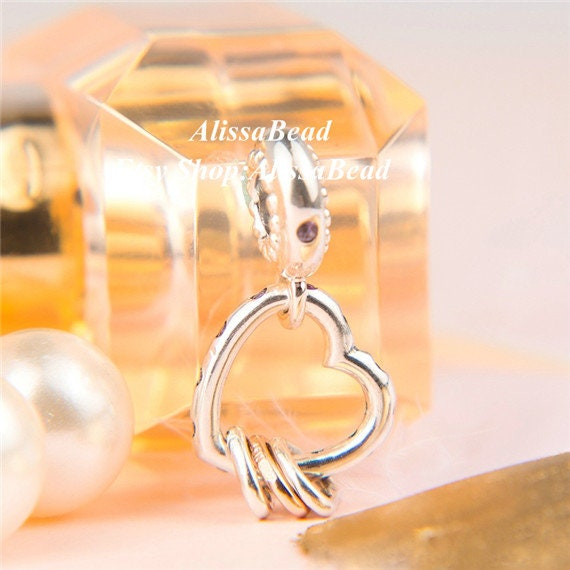 2019 Mother/'s Day Release Sterling Silver Heart Balloons Dangle Charm With CZ and Enamel Charm Fits European DIY Bracelets Necklaces