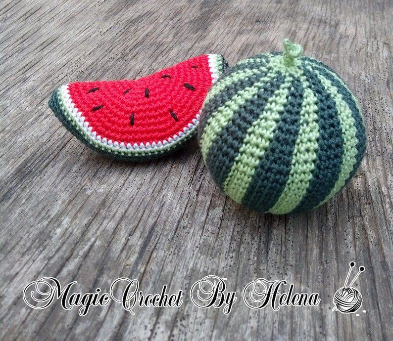 12 Tasty Watermelon Crochet Patterns – Pixel Perfect Crochet | 690x794