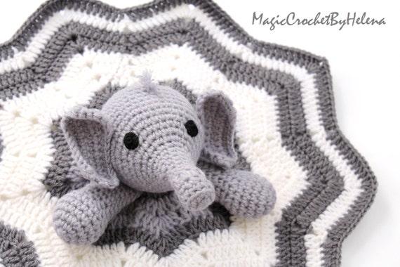 Elefant Häkeln Schmusetuch Häkeln Schmusetuch Elefant Etsy