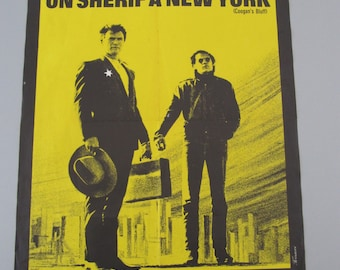 Poster of cinema a sherif in New York movie poster policier
