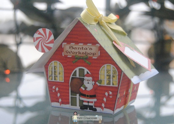 Elf House  Santa/'s Workshop Christmas trinket  jewelry  ring box