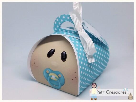 Printable Curvy Keepsake Gift Box Baby Boy Diy Etsy
