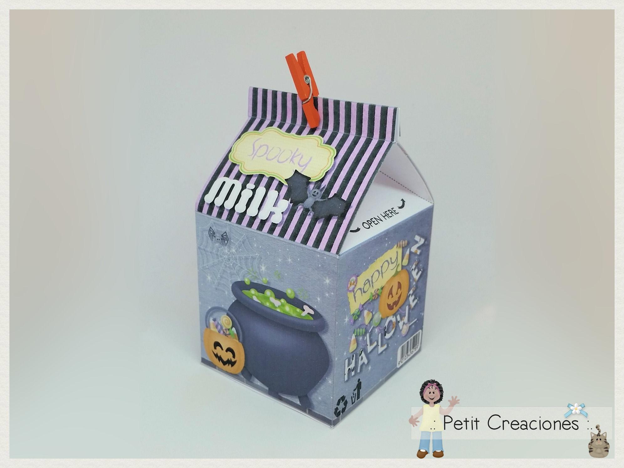 fa498767ccd2 PRINTABLE MILK Carton Spooky Milk DIY gift idea