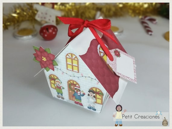 photograph regarding Printable Gift Box identified as Printable present box \u201cChristmas tune\u201c Do it yourself, PDF, take care of box