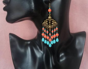 """Collection """"Ancient Greece"""" earrings N ° 3"""