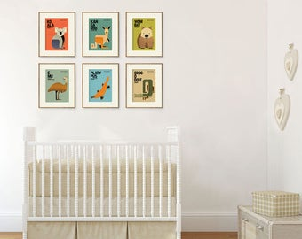 nursery art etsy