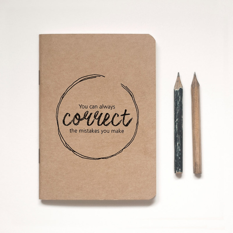 Illustrated Kraft Notebook Lined or Blank plus image 0