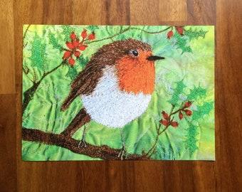Christmas Robin Print LIMITED EDITION