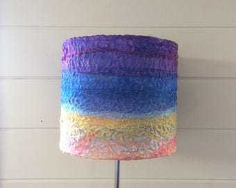 Sunset lampshade