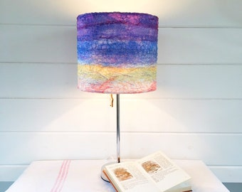 Sunset round lampshade