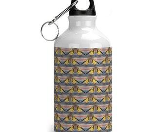 Reusable Water bottle blue tit
