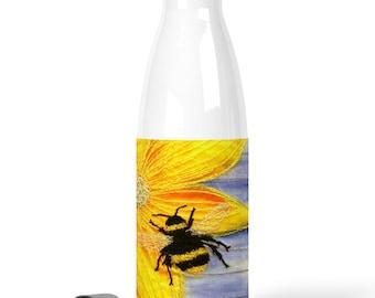 Premium Stainless Steel Water Bottle Bee design / chilly bottle 500 ml
