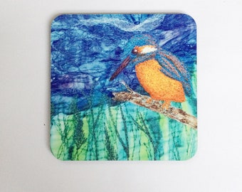 Kingfisher coasters