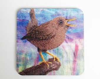 LIMITED EDITION Wren bird coasters