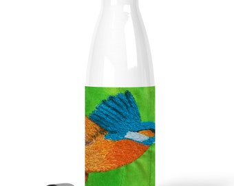 Premium Stainless Steel Water Bottle kingfisher design / chilly bottle 500 ml