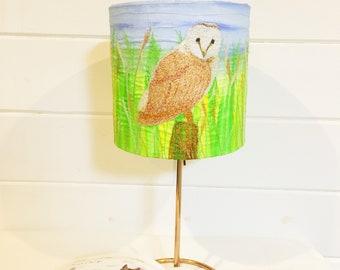 Barn owl lampshade