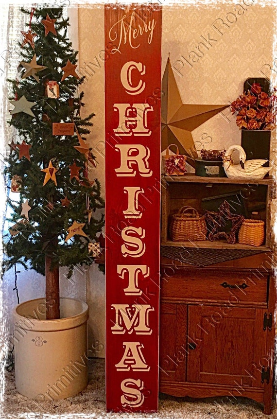 Large Christmas Stencils For Wood.Stencil Large Vertical Merry Christmas 4 Piece Stencil Please Read Description Reusable Stencil Not A Sign
