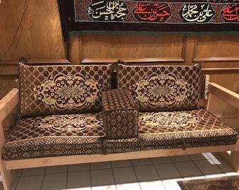 Golden Brown Cushion Set