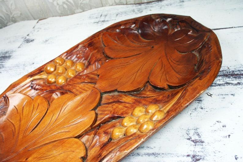 Carved Figures Antiques Vintage Hand Carved Leaf Made Out Of Wood