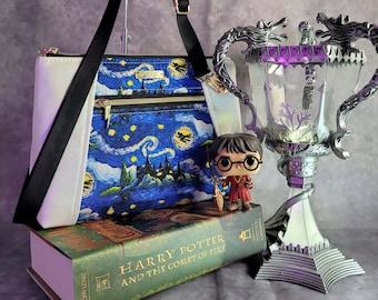 Starry Harry Potter Night Crossbody Bag