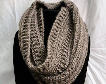 Cozy Ribbed Infinity Scarf