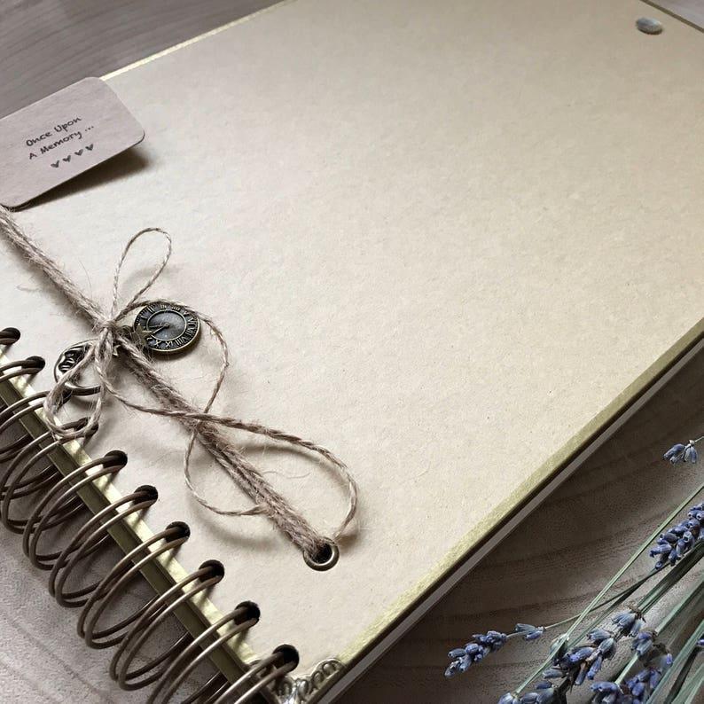 Handmade Personalised Memory Book/ Scrapbook/ Photo Album/ image 0