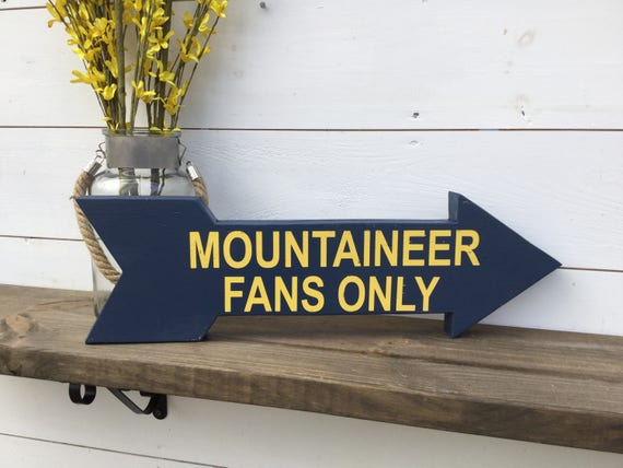 Fantastic Wvu Sign West Virginia Sign Mountaineers Sign Sports Sign College Sports Team Sign Arrow Wood Arrow Man Cave Sign Creativecarmelina Interior Chair Design Creativecarmelinacom