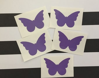 Butterfly Tanning Stickers Tanning Decals Set of 25 Stickers