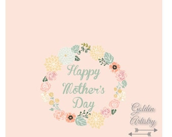 """4x6"""" Mother's Day Card 1-Digital Download"""