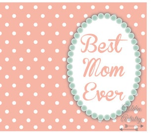 """4x6"""" Mother's Day Card 3—Digital Download"""