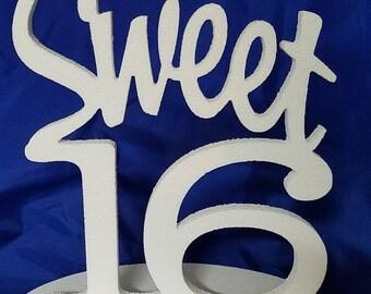 Sweet 16 centerpiece Party Centerpiece Sweet 16 decorations Table Centerpiece
