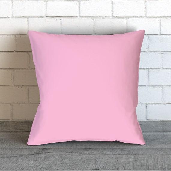 Pastel Pink Pillow Baby Girl Nursery Pink Throw Pillows Etsy Adorable Baby Girl Decorative Pillows