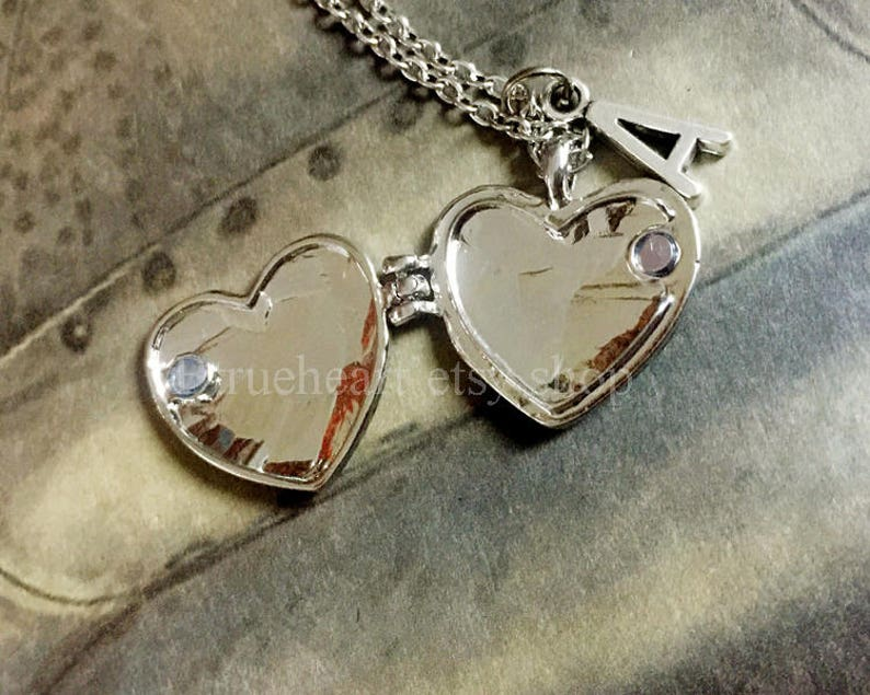 77501e0a0fb5 Best Friend Locket Best Friend Necklace Initial Necklace Best