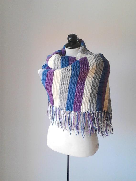 Grosse écharpe foulard surdimensionné extra longue écharpe   Etsy 64e8a183d41