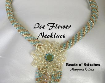 Ice Flower Necklace