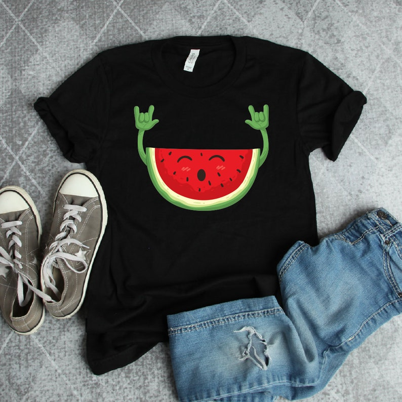 66e16c35d9 Dancing Watermelon Funny Shirt watermelon shirt watermelon | Etsy