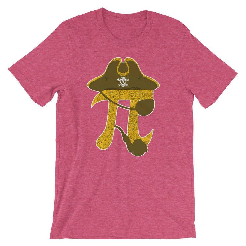 475fbf327 Pi Pirate Funny Algebraic Sign Symbol Nerd Shirt Mathematics | Etsy
