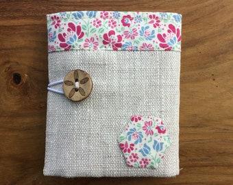 Linen Teabag Wallet with Tilda Lining