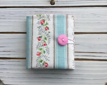 Teabag Wallet made with Cath Kidston Fabric