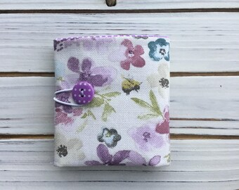Floral Teabag Wallet