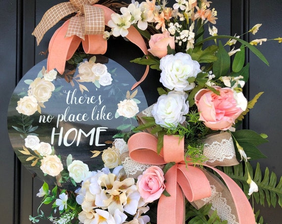 Summer Wreath, Welcome Wreath,  Country Chic, SassyDoors Wreath,