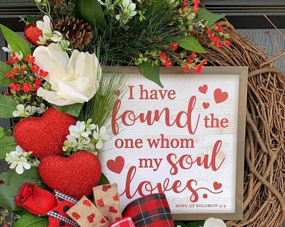 Valentines Wreath, Valentine Door Wreath, Valentines Day Wreath, Sassy Doors Wreath
