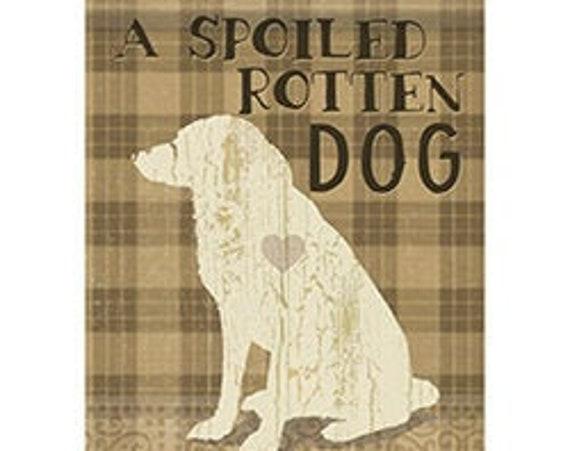 Spoiled Rotten Dog Flag, Dog Garden Flag, Pet Flag,